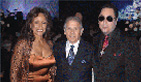 Stuart hangs out with his good friends David Gest and Frieda Payne